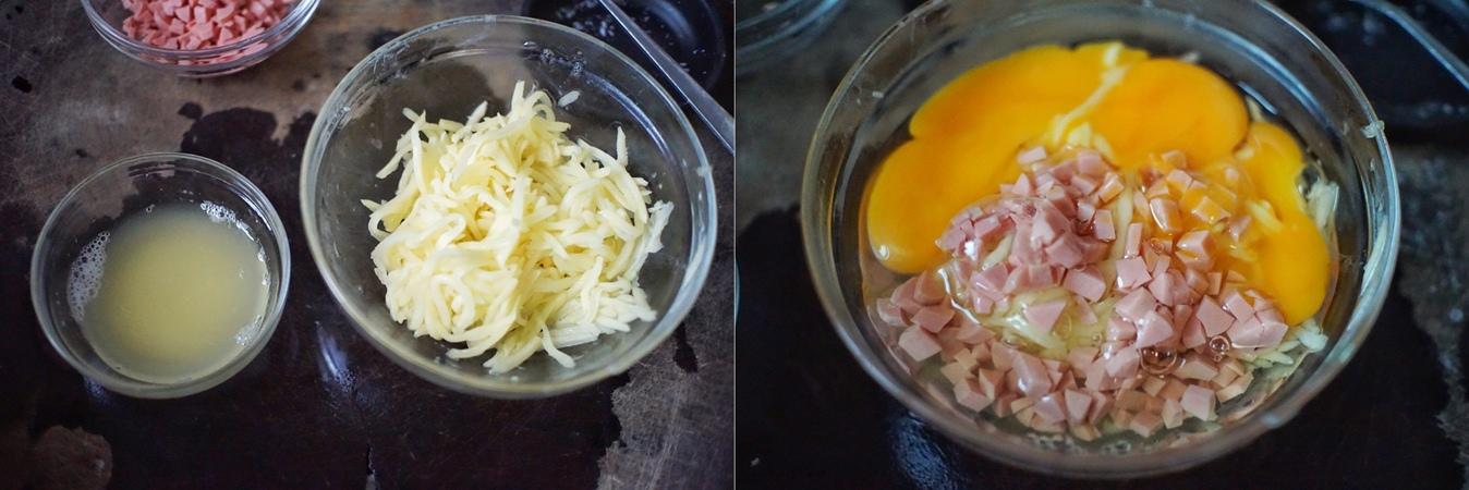Rảnh rỗi tôi thử làm bánh trứng khoai tây, trẻ con trong nhà đứa nào cũng thích - Ảnh 2.