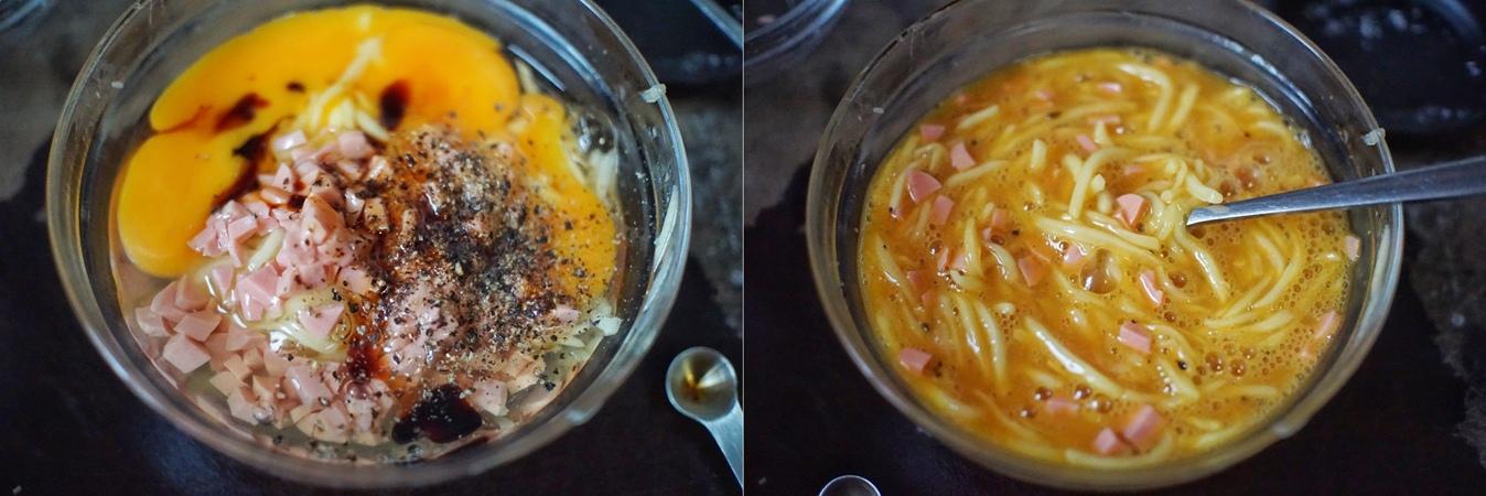 Rảnh rỗi tôi thử làm bánh trứng khoai tây, trẻ con trong nhà đứa nào cũng thích - Ảnh 3.