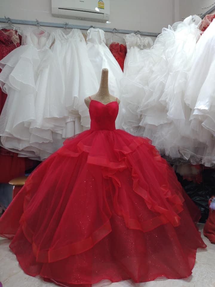 Váy cưới thanh lý chỉ 200 ngàn đến 1,5 triệu/chiếc, cô dâu Việt thích thú order nhằm tiết kiệm 1 khoản ngày cưới - Ảnh 4.