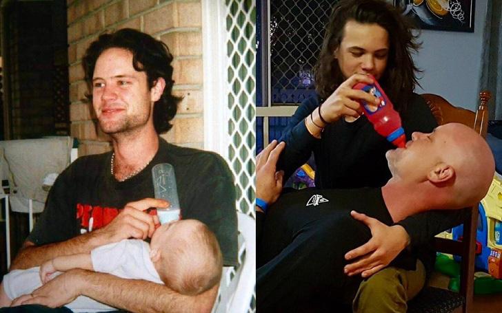 Các bố mẹ thi nhau khoe những bức hình chụp con ngày ấy - bây giờ, điều thú vị nằm ở 1 chi tiết đặc biệt