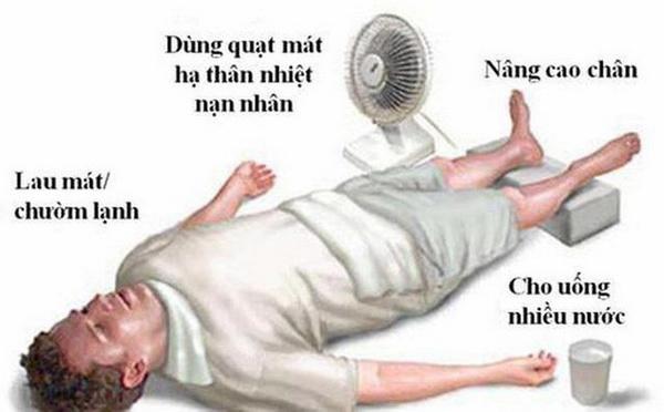 Sốc nhiệt do nắng nóng: Coi chừng đột tử - Ảnh 1.