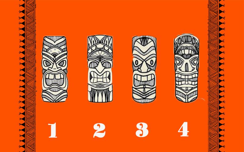 Chọn 1 chiếc mặt nạ thổ dân để biết bí mật ẩn giấu trong con người bạn
