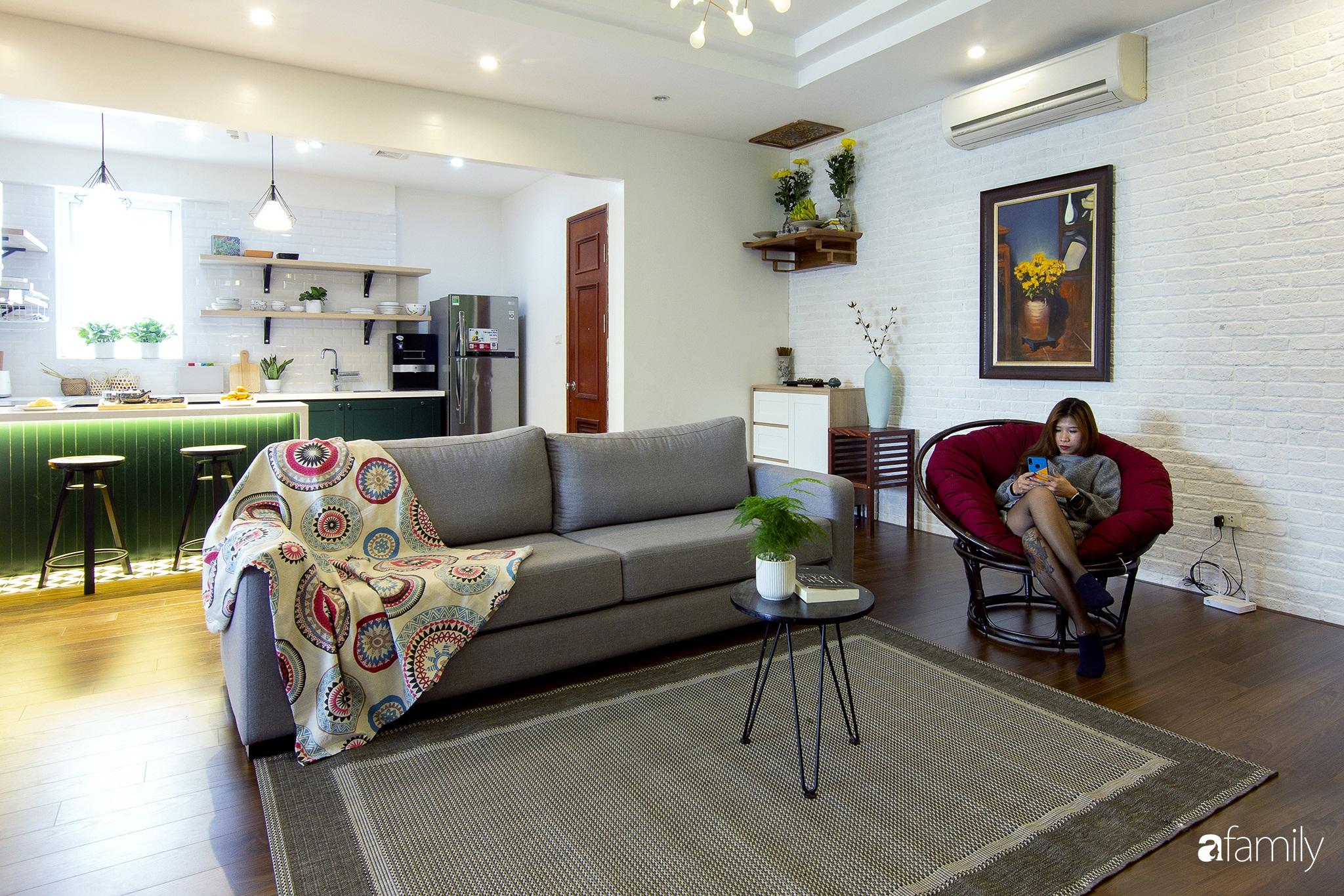 Căn hộ 150m² tối ưu không gian nhờ decor màu trung tính và phong cách hiện đại ở Cầu Giấy, Hà Nội - Ảnh 2.