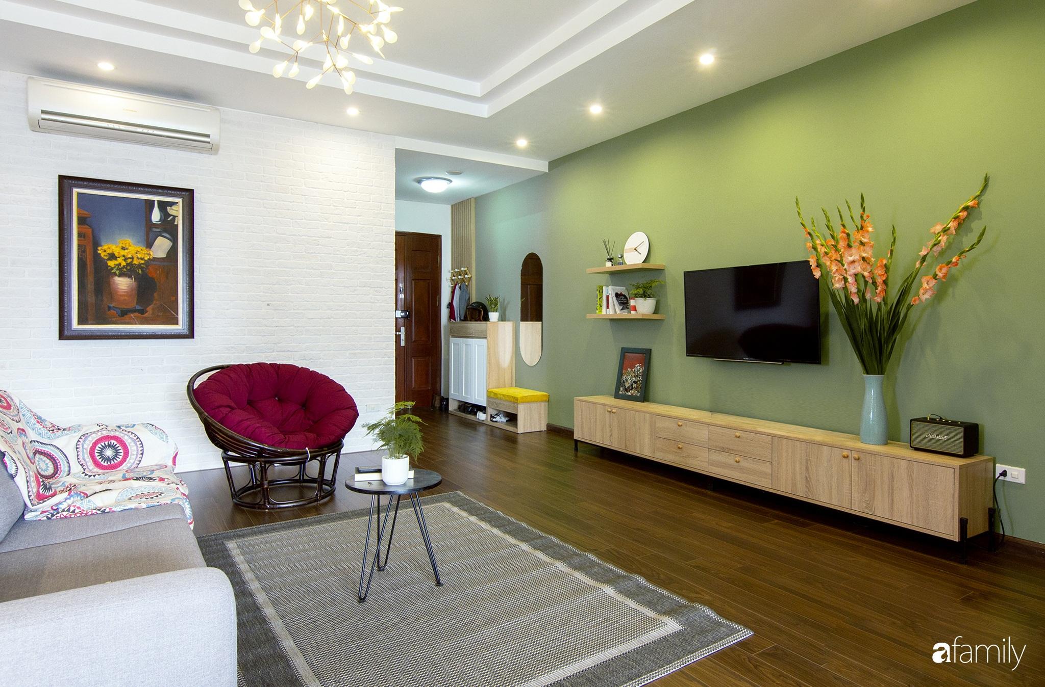 Căn hộ 150m² tối ưu không gian nhờ decor màu trung tính và phong cách hiện đại ở Cầu Giấy, Hà Nội - Ảnh 1.