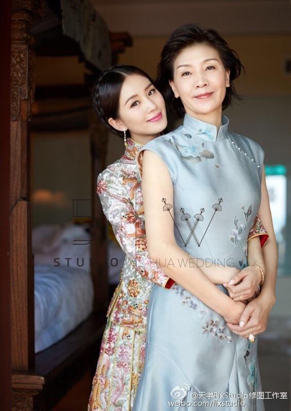 Nhan sắc mẹ ruột của các mỹ nhân Hoa ngữ: Người có vẻ đẹp hơn hẳn con gái - Ảnh 4.