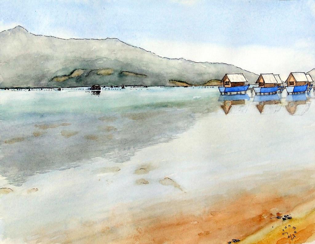 """Bộ tranh """"đẹp quá Việt Nam ơi"""" được vẽ bởi họa sĩ người Pháp  - Ảnh 5."""