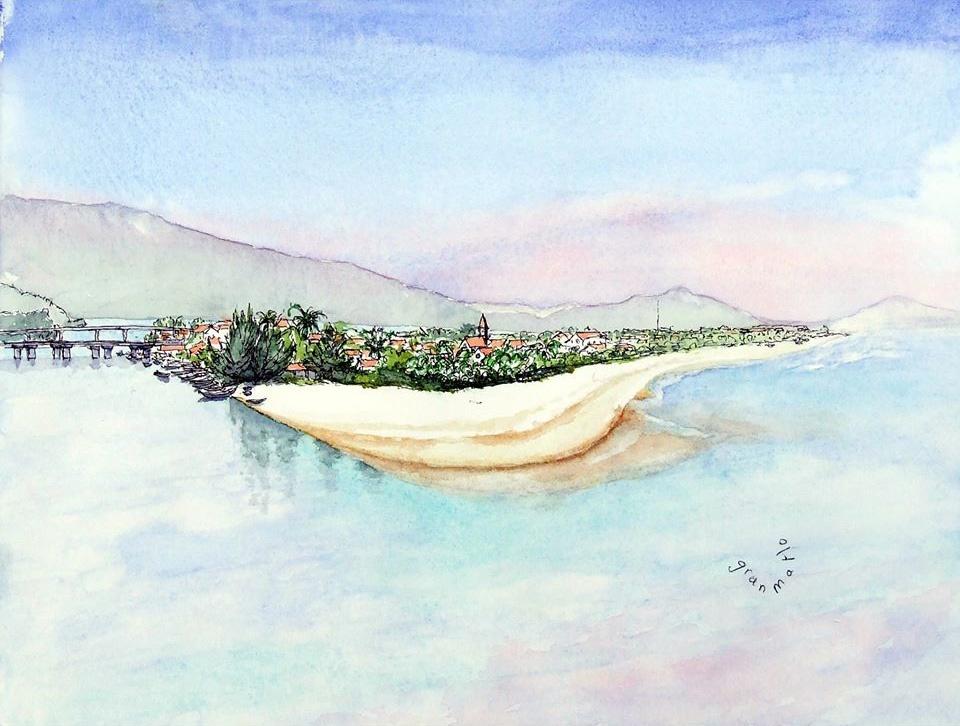 """Bộ tranh """"đẹp quá Việt Nam ơi"""" được vẽ bởi họa sĩ người Pháp  - Ảnh 6."""