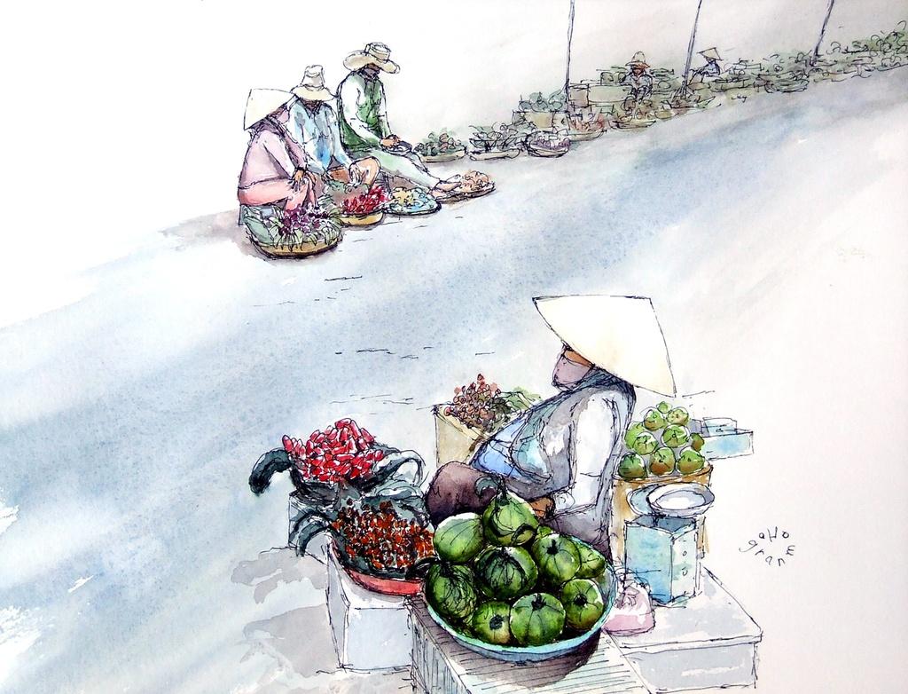 """Bộ tranh """"đẹp quá Việt Nam ơi"""" được vẽ bởi họa sĩ người Pháp  - Ảnh 7."""