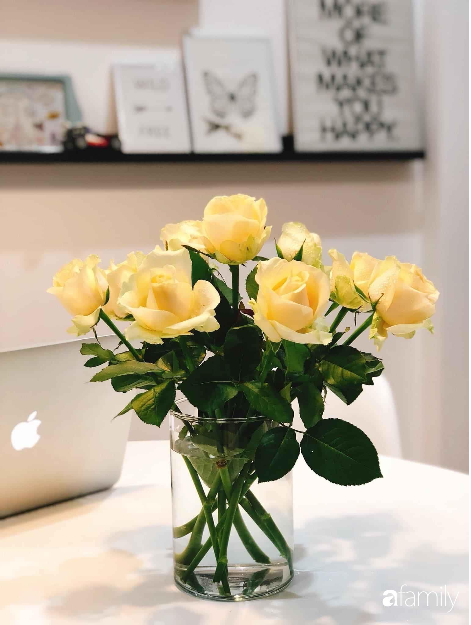 Bí quyết decor căn hộ 60m² luôn ngọt ngào và thoảng nhẹ hương thơm dịu dàng ở Hà Nội - Ảnh 17.