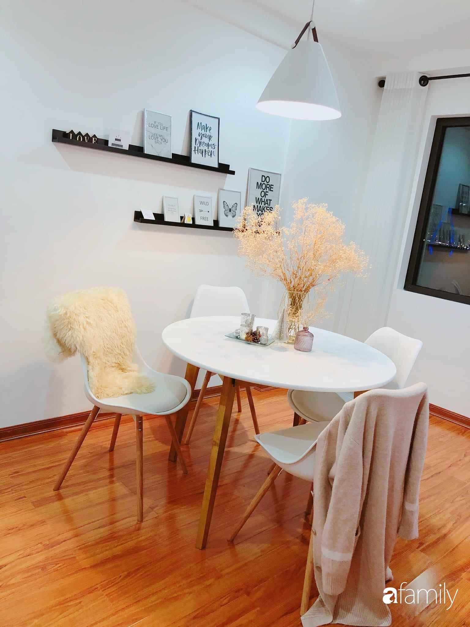 Bí quyết decor căn hộ 60m² luôn ngọt ngào và thoảng nhẹ hương thơm dịu dàng ở Hà Nội - Ảnh 18.