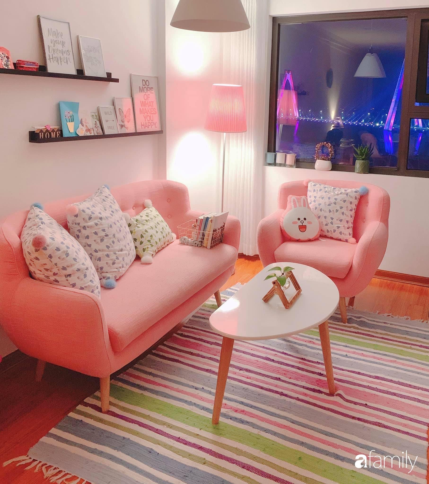 Bí quyết decor căn hộ 60m² luôn ngọt ngào và thoảng nhẹ hương thơm dịu dàng ở Hà Nội - Ảnh 2.