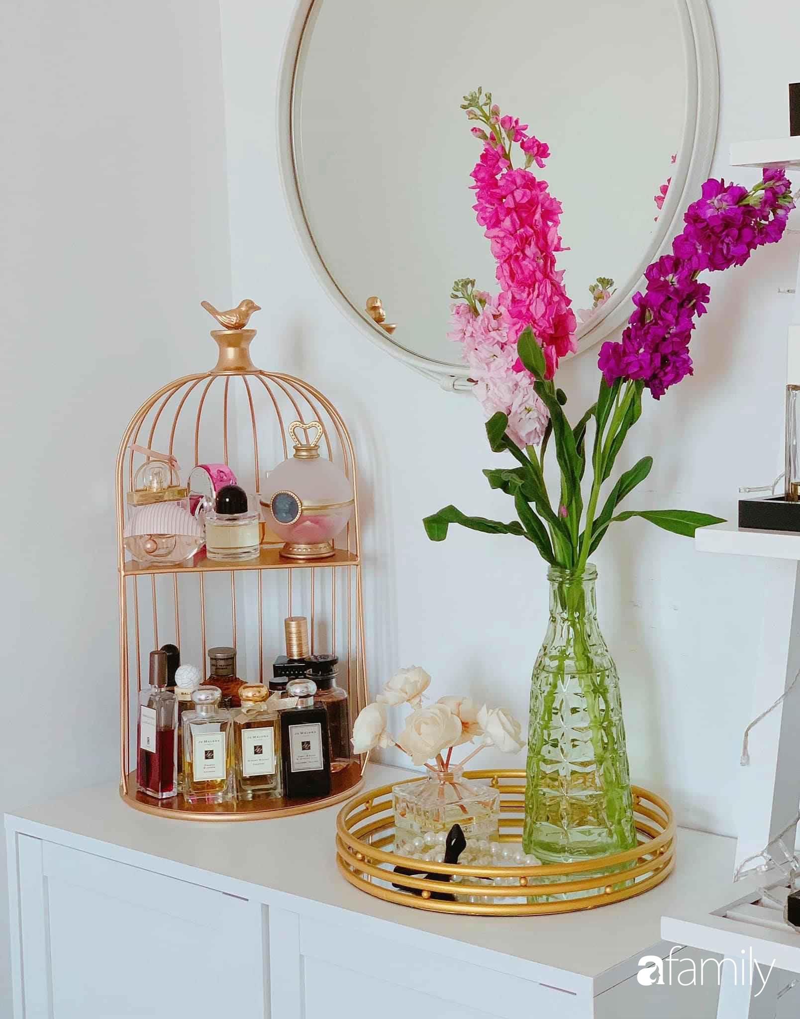 Bí quyết decor căn hộ 60m² luôn ngọt ngào và thoảng nhẹ hương thơm dịu dàng ở Hà Nội - Ảnh 14.
