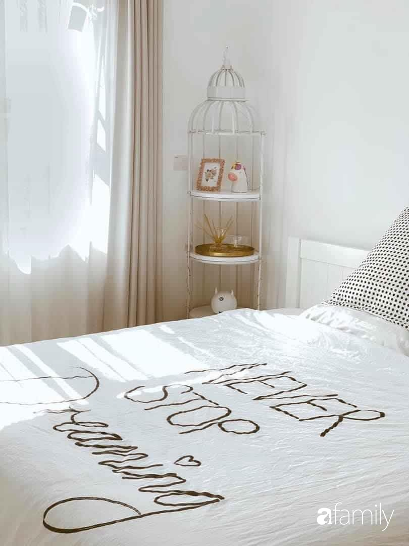 Bí quyết decor căn hộ 60m² luôn ngọt ngào và thoảng nhẹ hương thơm dịu dàng ở Hà Nội - Ảnh 5.