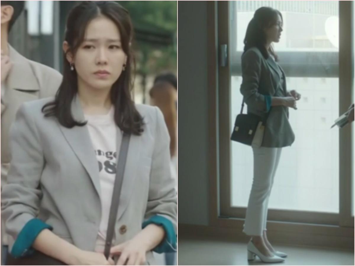 Nhìn dàn sao trong phim Hàn mà học được bao cách lên đồ với áo thun trắng, diện lên mắt mẻ lại vừa sang - Ảnh 5.