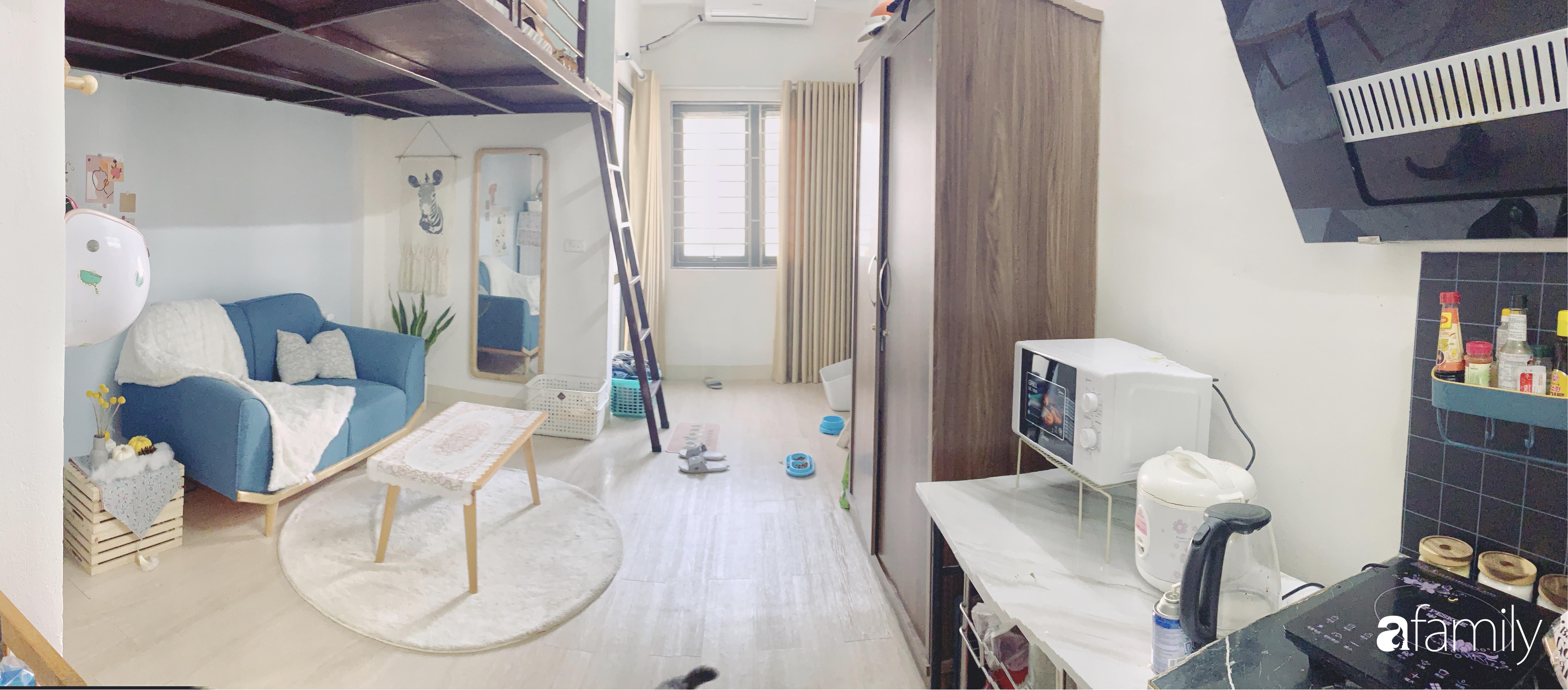 Ngắm không gian đi thuê 25m² của cô sinh viên thiết kế đồ họa, tự lên ý tưởng cải tạo và decor lại với chi phí khoảng 10 triệu đồng - Ảnh 4.