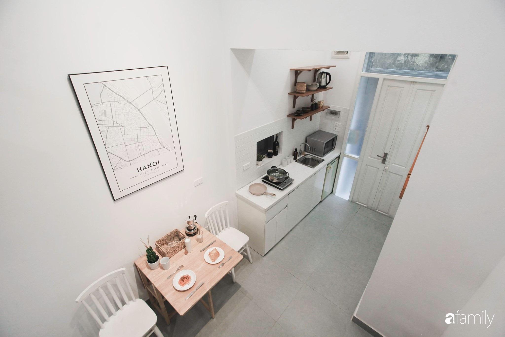 Bí quyết cải tạo nhà phố cổ trăm tuổi 16m² thành không gian tối giản với vẻ đẹp trẻ trung, tinh tế của chàng trai Hà Nội - Ảnh 8.