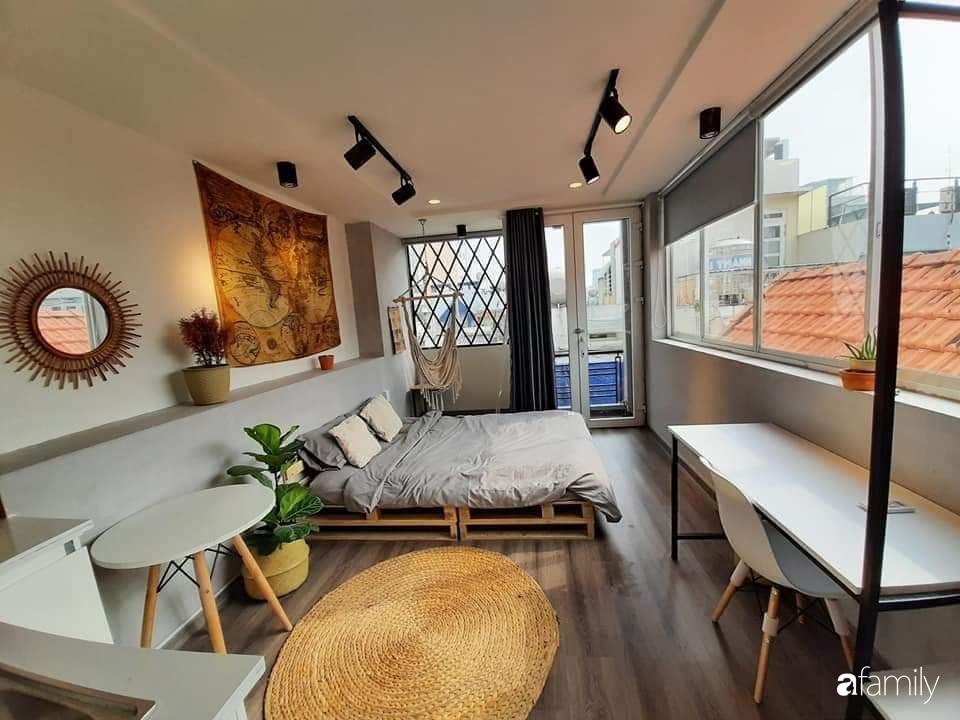 Chi 20 triệu đồng, sân thượng tầng 4 trở thành không gian sống tiện ích, nhiều ánh sáng tự nhiên ở quận 1, Sài Gòn - Ảnh 5.
