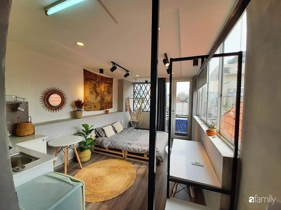 Chi 20 triệu đồng, sân thượng tầng 4 trở thành không gian sống tiện ích, nhiều ánh sáng tự nhiên ở quận 1, Sài Gòn - Ảnh 4.