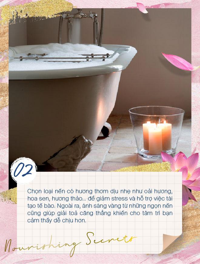 Học lỏm các tips đơn giản mà hiệu quả để biến phòng tắm thành spa tại nhà - Ảnh 2.