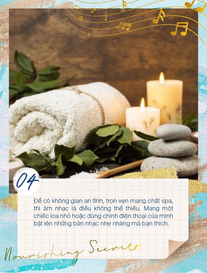 Học lỏm các tips đơn giản mà hiệu quả để biến phòng tắm thành spa tại nhà - Ảnh 4.