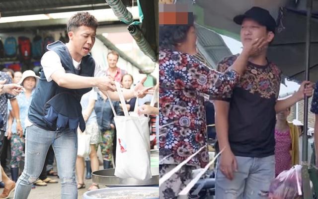 """Loạt tình huống """"khốn đốn"""" khi sao Việt đi chợ: Hài hước nhất là Trấn Thành, Trường Giang bị sờ má, kéo áo giữa khung cảnh náo loạn"""