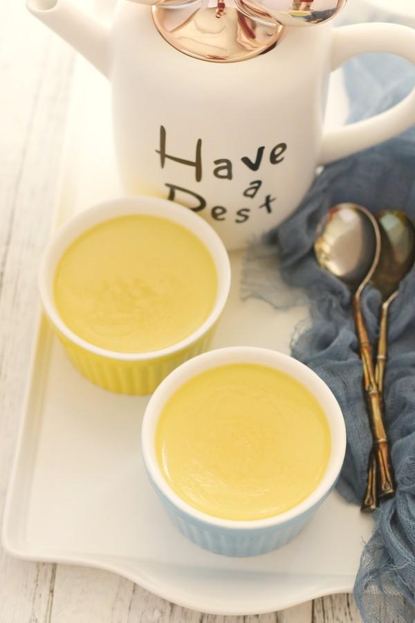 Tự làm Pudding trứng cốt dừa tại nhà mềm mượt như mây - Ảnh 5.