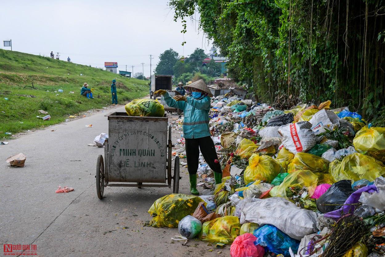 Ngổn ngang rác thải y tế nguy hại đổ bừa bãi tại Hạ Lôi - Ảnh 5.