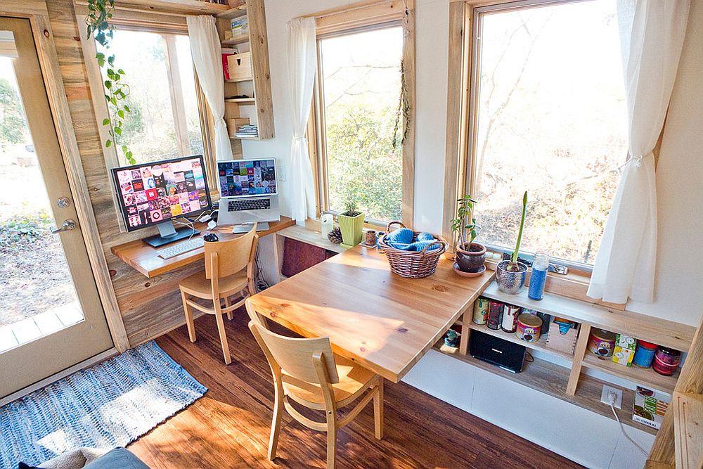 Làm việc ở nhà cùng nhau với những thiết kế phòng làm việc thú vị dành cho 2 người - Ảnh 1.