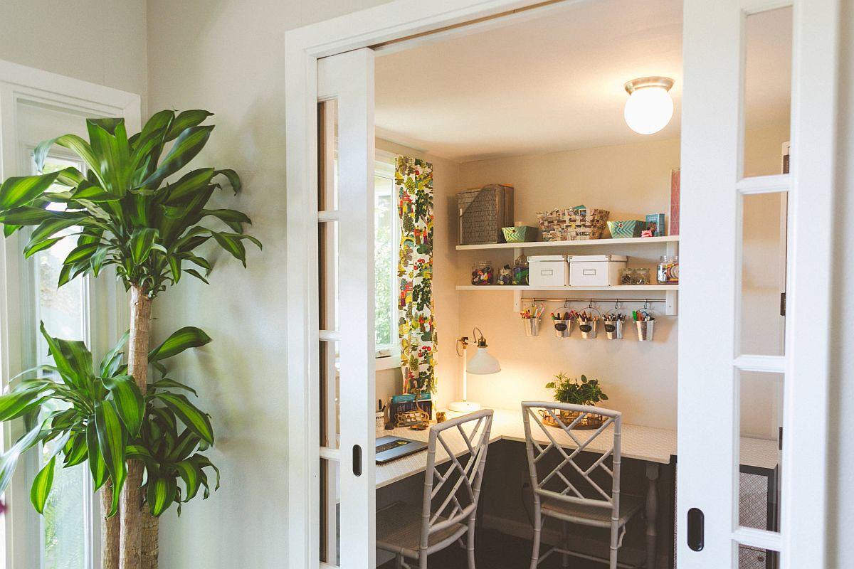Làm việc ở nhà cùng nhau với những thiết kế phòng làm việc thú vị dành cho 2 người - Ảnh 7.