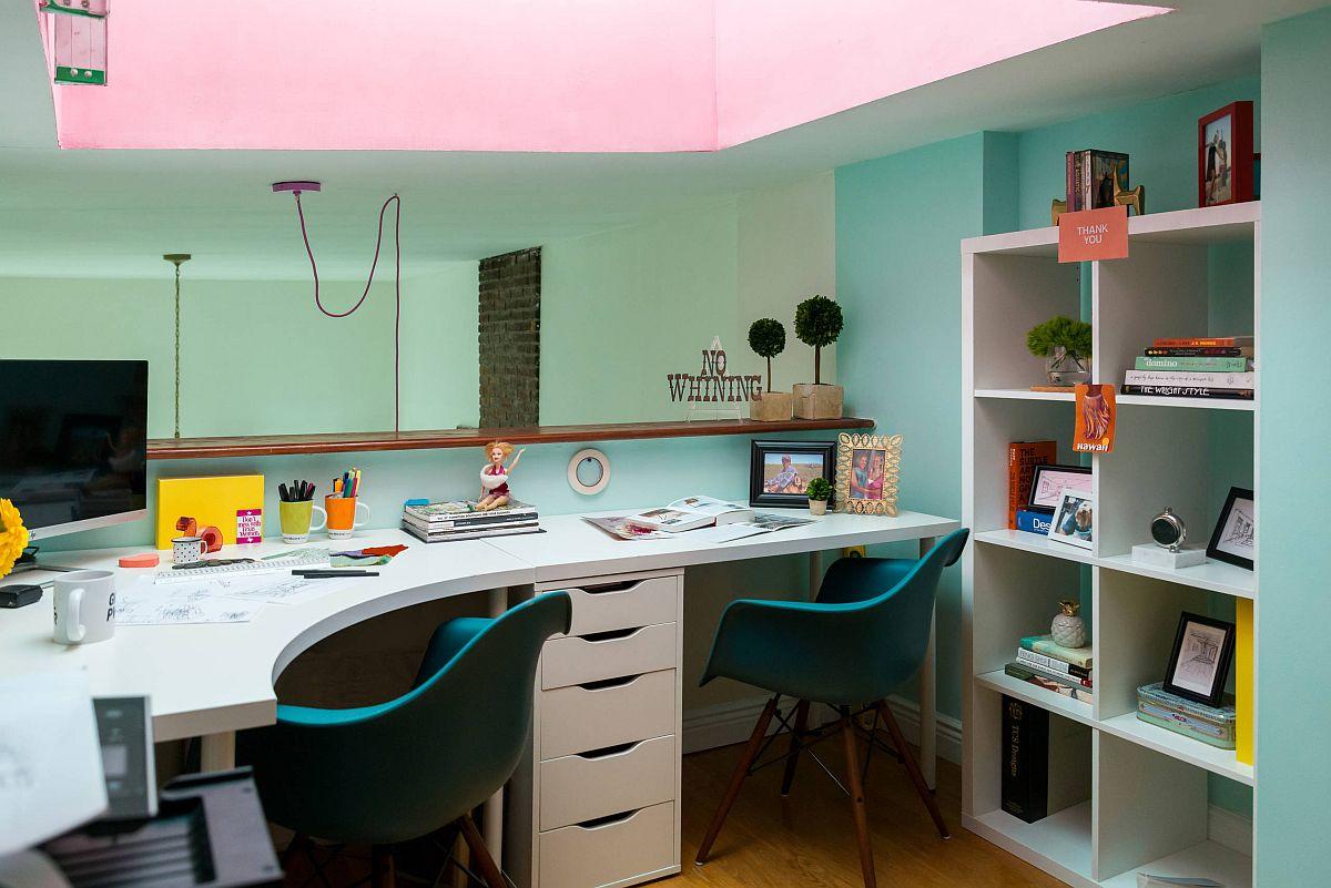 Làm việc ở nhà cùng nhau với những thiết kế phòng làm việc thú vị dành cho 2 người - Ảnh 3.