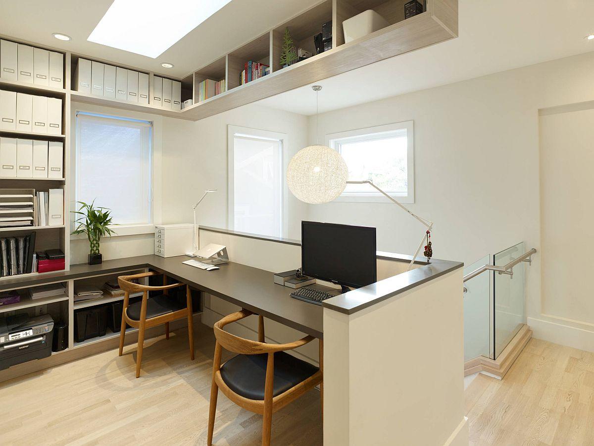 Làm việc ở nhà cùng nhau với những thiết kế phòng làm việc thú vị dành cho 2 người - Ảnh 4.