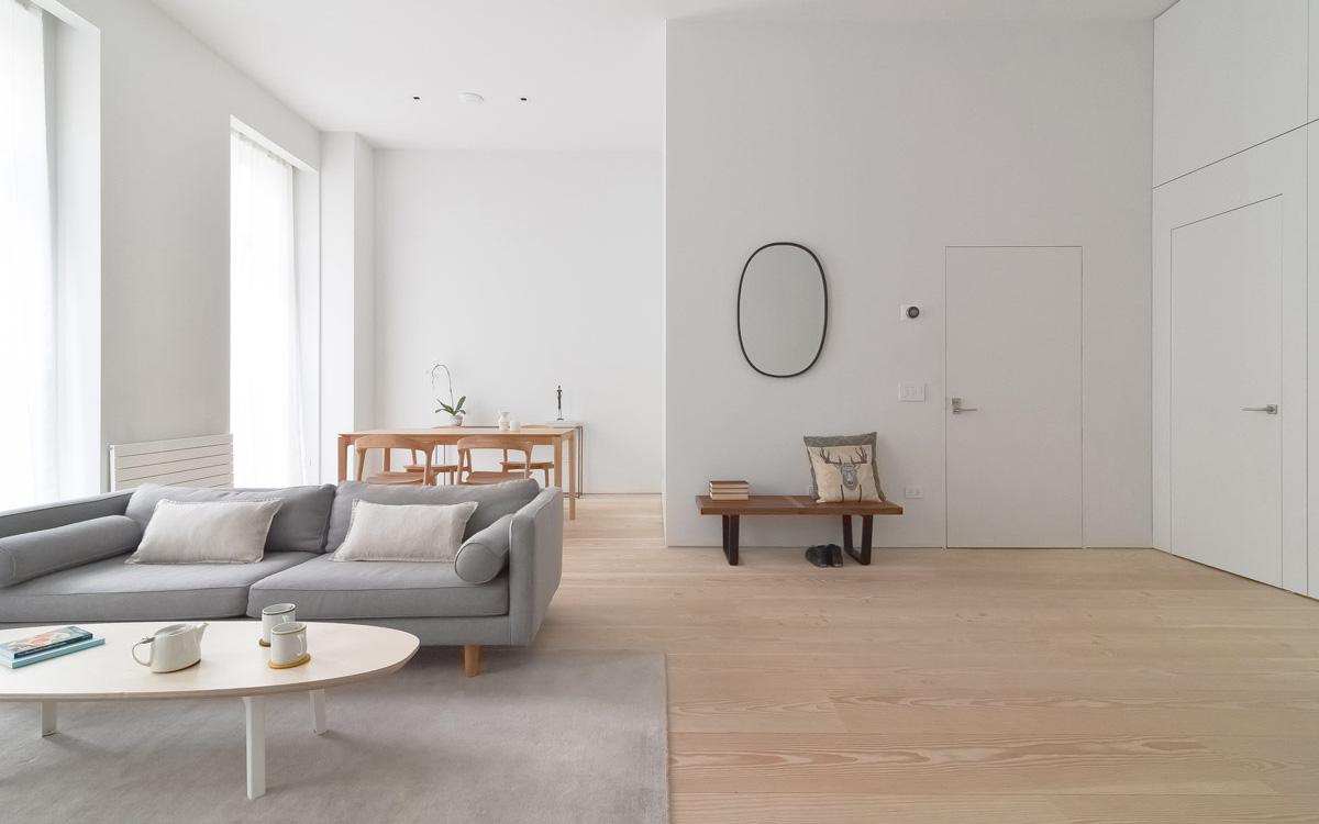 """Không gian sống với bộ đôi """"Scandinavia và sự tối giản"""" sẽ khiến những người có cuộc sống xô bồ, bận rộn muốn sở hữu ngay lập tức"""