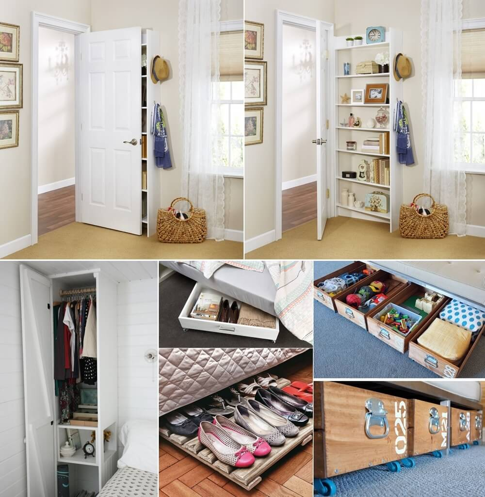 Những ý tưởng lưu trữ thông minh giúp phòng ngủ nhỏ luôn gọn gàng - Ảnh 1.