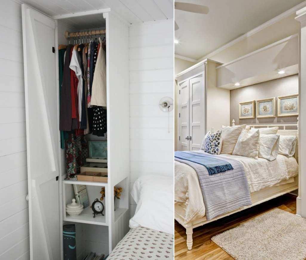 Những ý tưởng lưu trữ thông minh giúp phòng ngủ nhỏ luôn gọn gàng - Ảnh 2.