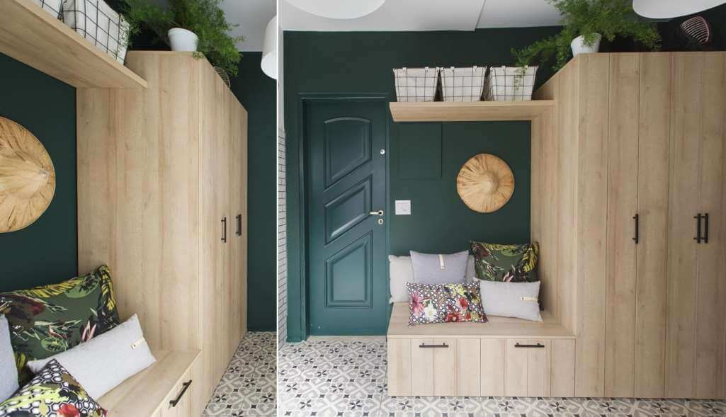 Đừng bỏ qua những ý tưởng lưu trữ thông minh giúp lối vào nhà vừa gọn vừa đẹp - Ảnh 2.