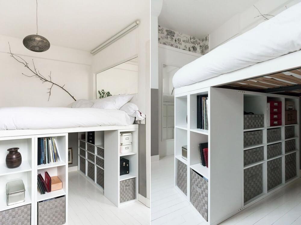Những ý tưởng lưu trữ thông minh giúp phòng ngủ nhỏ luôn gọn gàng - Ảnh 5.