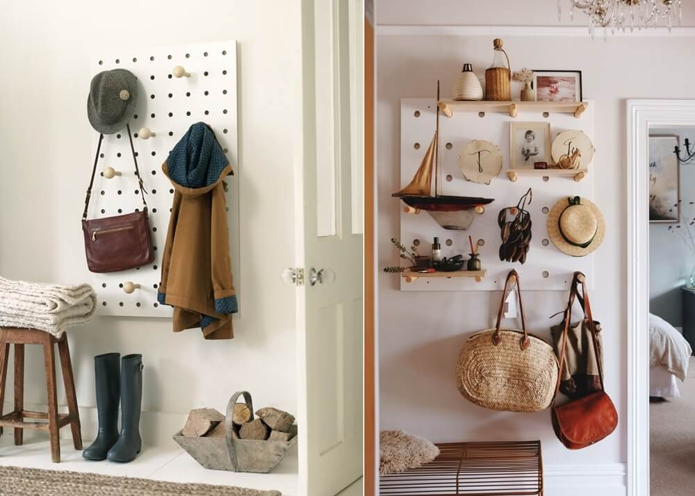 Đừng bỏ qua những ý tưởng lưu trữ thông minh giúp lối vào nhà vừa gọn vừa đẹp - Ảnh 9.