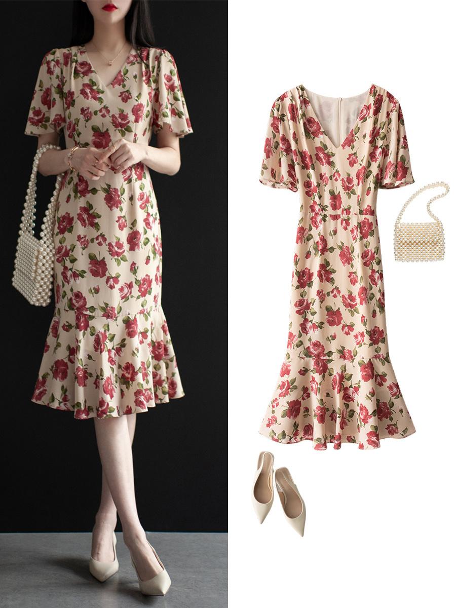 Diện váy liền họa tiết hoa rất dễ già đi, nhưng biết vài tips sau thì đảm bảo luôn trẻ xinh lung linh  - Ảnh 5.