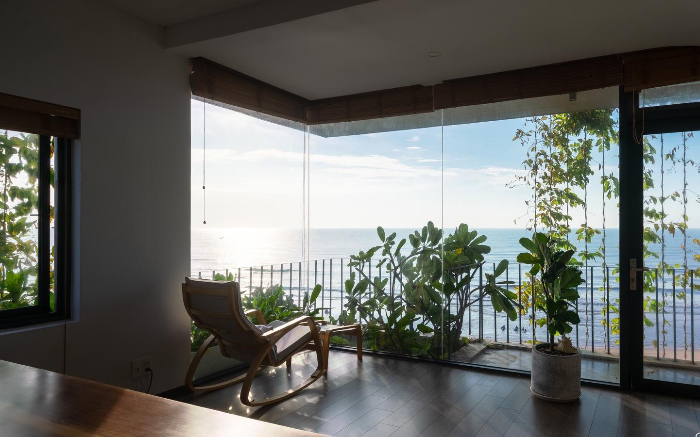 Ngôi nhà 3 tầng view biển Vũng Tàu với thiết kế mang ánh sáng và cây xanh đến từng góc nhỏ