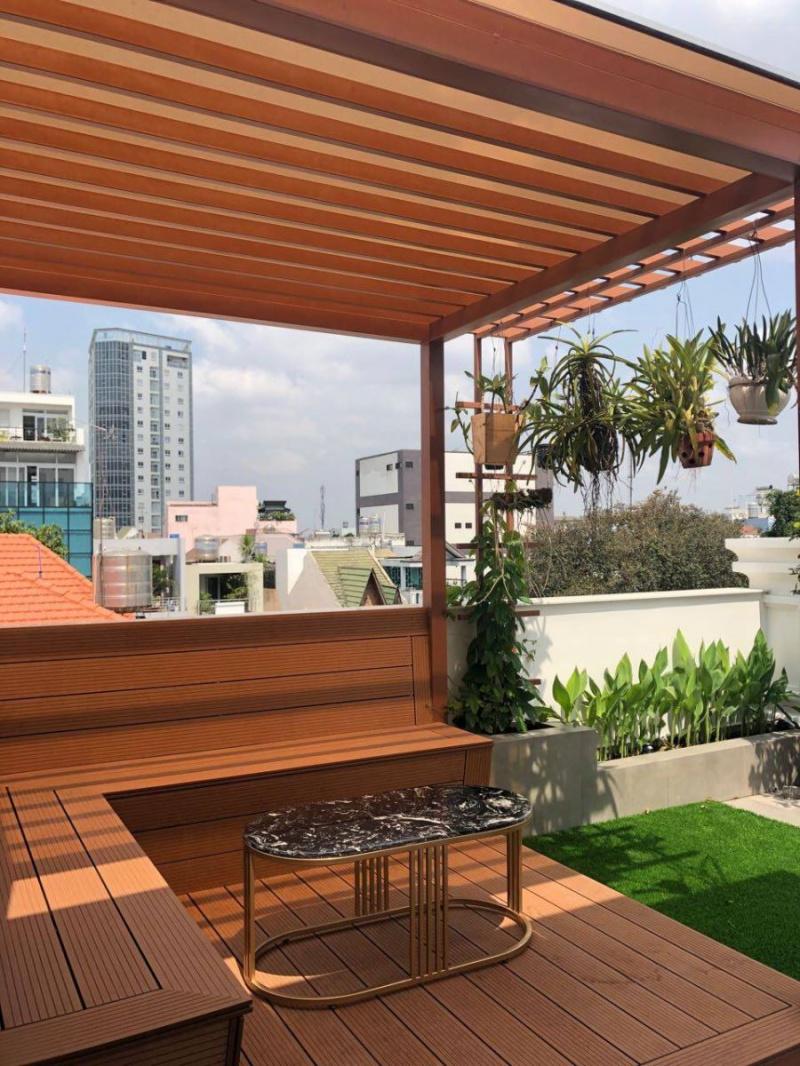 """Biến sân thượng nhạt nhẽo thành góc """"chill"""" qua năng tháng với những món đồ dùng, decor này - Ảnh 1."""