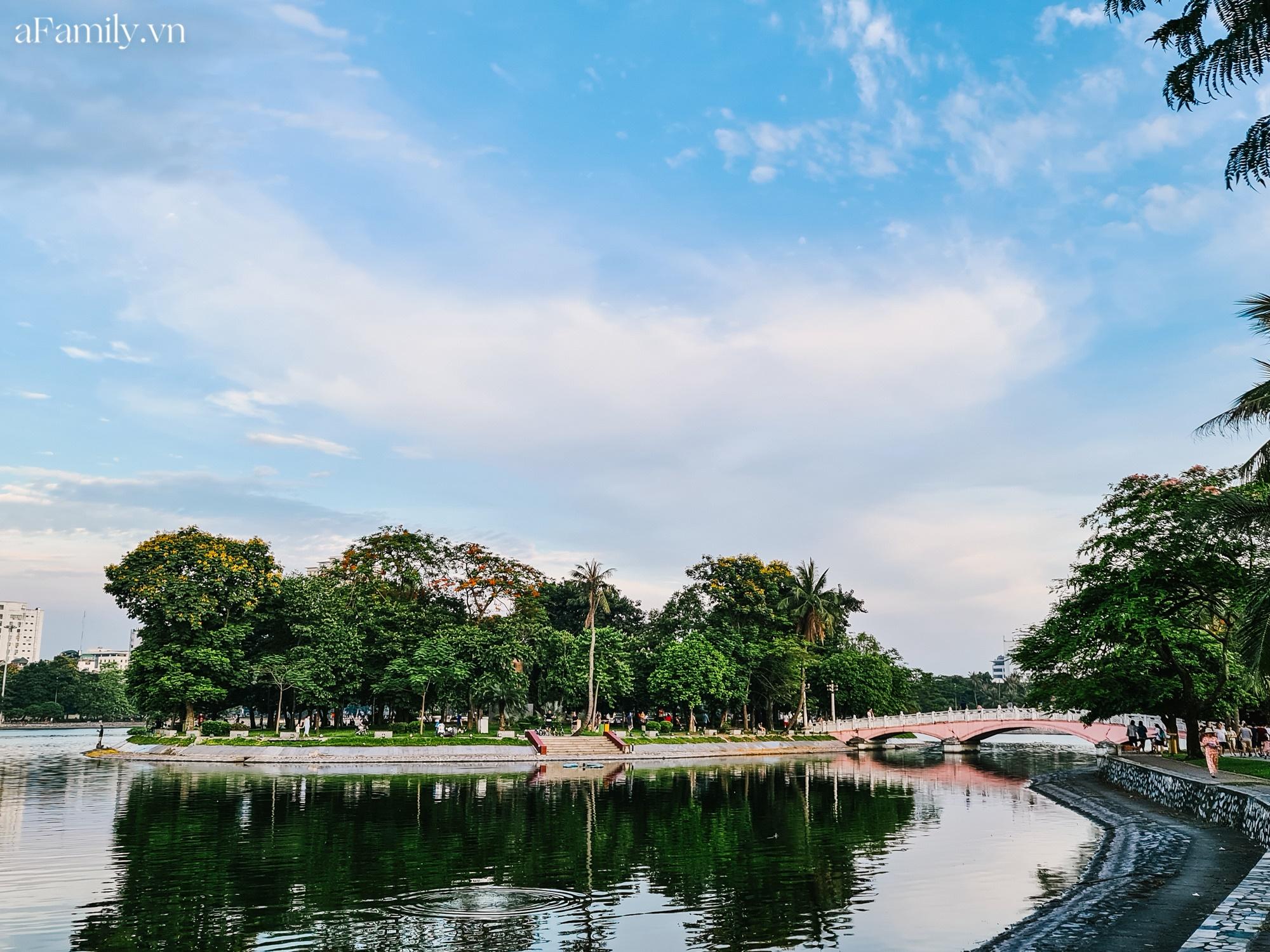 4000 đồng cho tour du lịch hè độc đáo ngay giữa thủ đô ở một công viên lâu đời vừa có đảo, vừa có rừng cây xanh, hồ cá trong lành - Ảnh 10.