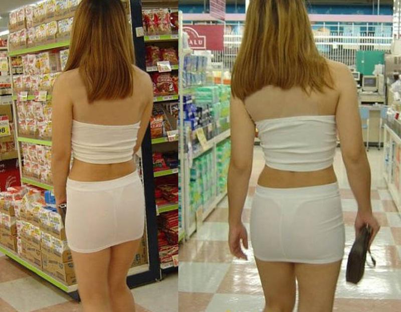 Những bộ váy áo đi siêu thị của các chị em khiến anh em câm nín - Ảnh 4.