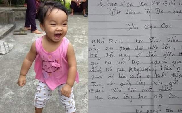 """Bé gái xinh xắn sau gần 1 năm bị mẹ bỏ ở chùa để """"đi lấy chồng"""" giờ ai nuôi? - Ảnh 1."""
