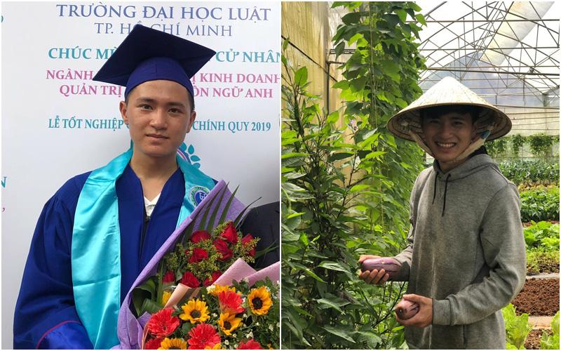 Chàng trai 9x về Đà Lạt gây dựng giấc mơ làm nông nghiệp sạch