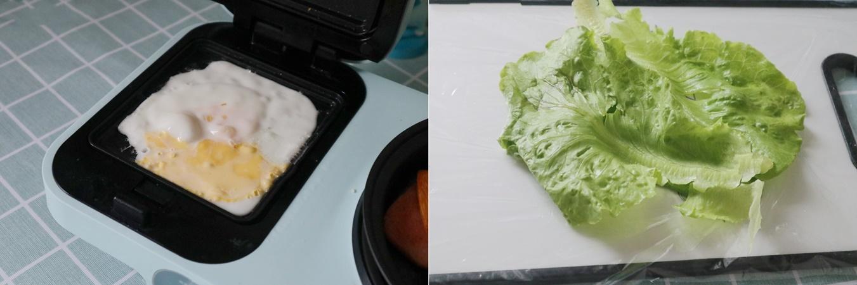 Bữa trưa giảm cân không tinh bột cùng món rau kẹp trứng thịt làm trong nháy mắt mà ăn siêu ngon - Ảnh 2.