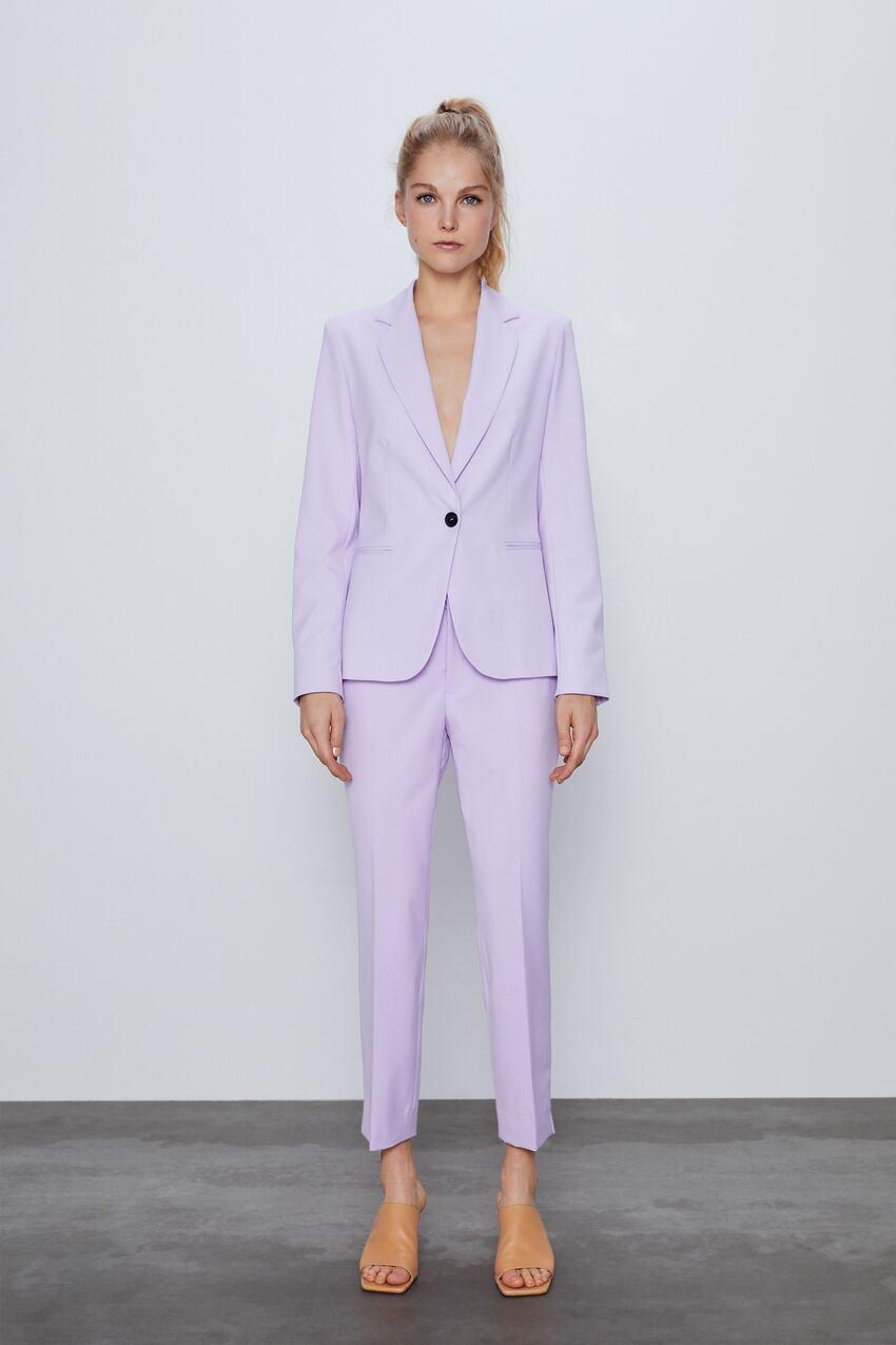 Hot nhất năm nay chính là trang phục màu tím nhưng để diện đẹp mà không sến thì các nàng cần tránh 3 sai lầm sau - Ảnh 5.