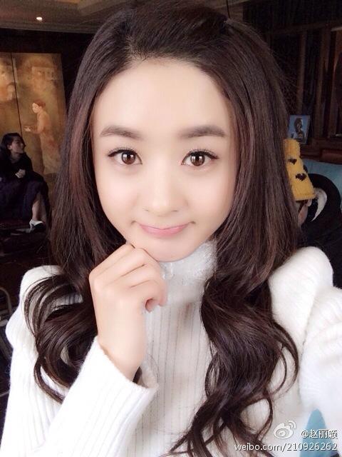 """Mỹ nhân """"Trần Thiên Thiên"""" Triệu Lộ Tư hay bị chê mặt to nhưng nhìn cô đắp mặt nạ thì netizen mới ngã ngửa vì sự thật - Ảnh 12."""