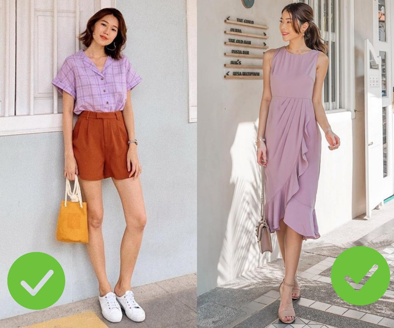 Hot nhất năm nay chính là trang phục màu tím nhưng để diện đẹp mà không sến thì các nàng cần tránh 3 sai lầm sau - Ảnh 4.