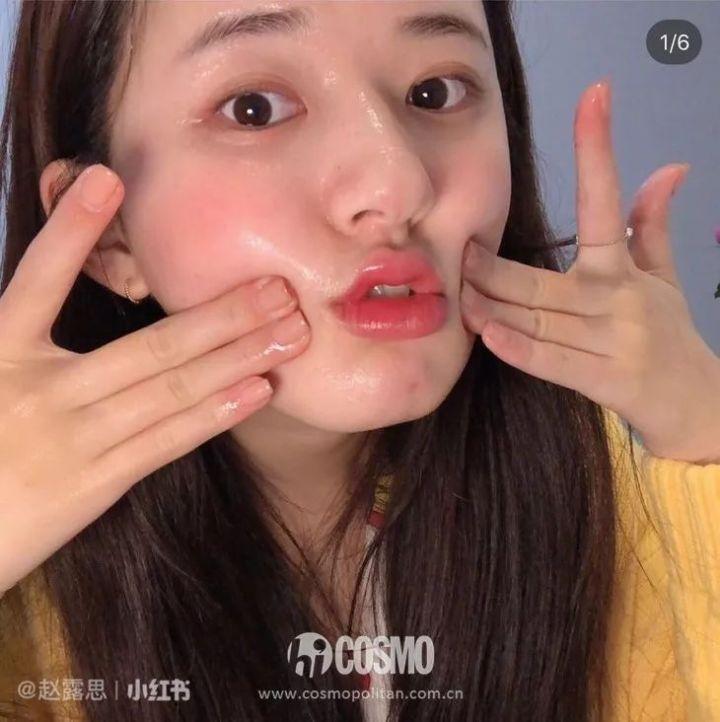 """Mỹ nhân """"Trần Thiên Thiên"""" Triệu Lộ Tư hay bị chê mặt to nhưng nhìn cô đắp mặt nạ thì netizen mới ngã ngửa vì sự thật - Ảnh 10."""