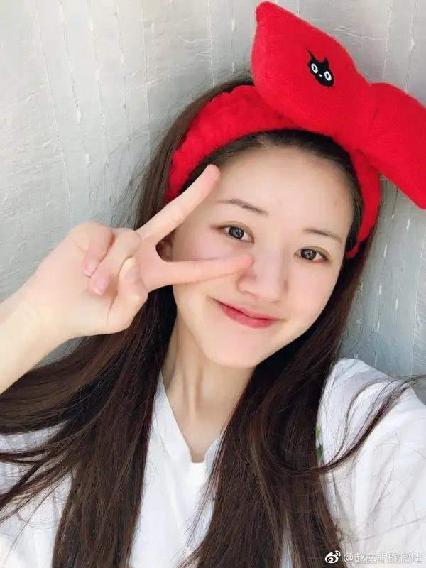 """Mỹ nhân """"Trần Thiên Thiên"""" Triệu Lộ Tư hay bị chê mặt to nhưng nhìn cô đắp mặt nạ thì netizen mới ngã ngửa vì sự thật - Ảnh 11."""